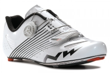 NorthWave Torpedo Plus Road Shoes White