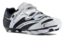 NorthWave Scorpius SRS MTB Shoes White-Black