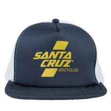 Santa Cruz Parallel Trucker Hat Navy