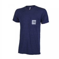 Santa Cruz Logo Pocket T-Shirt - Tri/Indigo