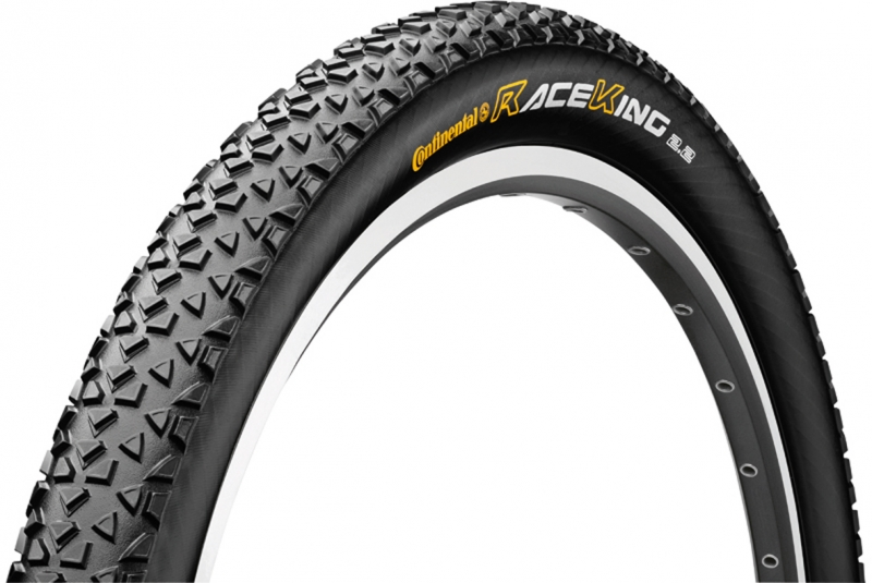 Continental Race King folding tyre 29er version, with Duraskin