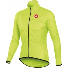 Castelli Squadra Long Jacket - Yellow Fluo