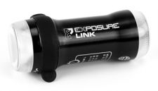 Exposure Link Front & Rear combo light with Helmet Mou...